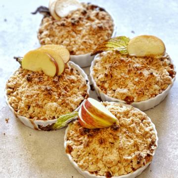 Vegan Gluten-free Apple Crumble