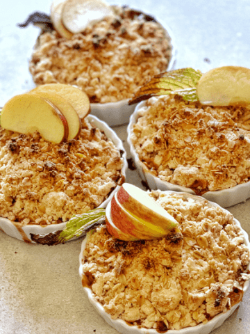 Vegan Gluten-free Apple Crumble