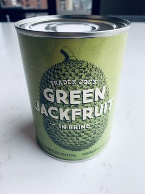 Traders Joe's Green Jackfruit