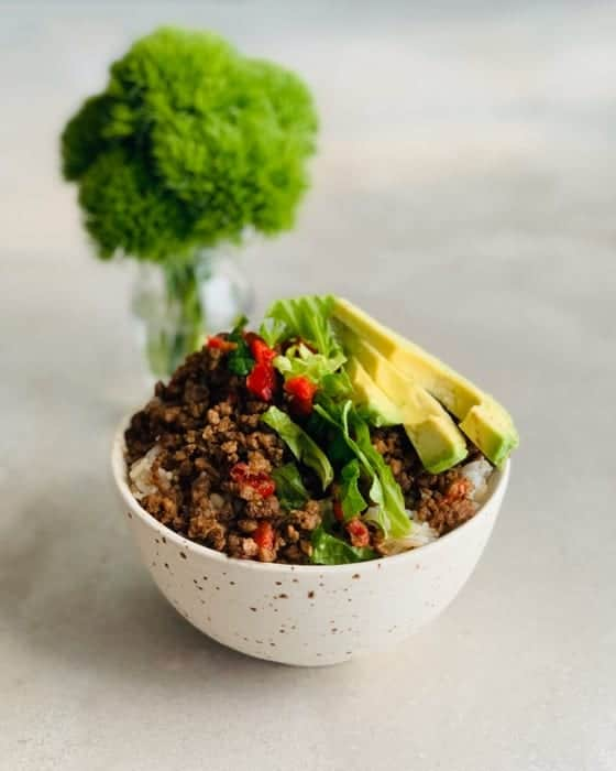 Vegan Beef-less Bowl The Vgn Way