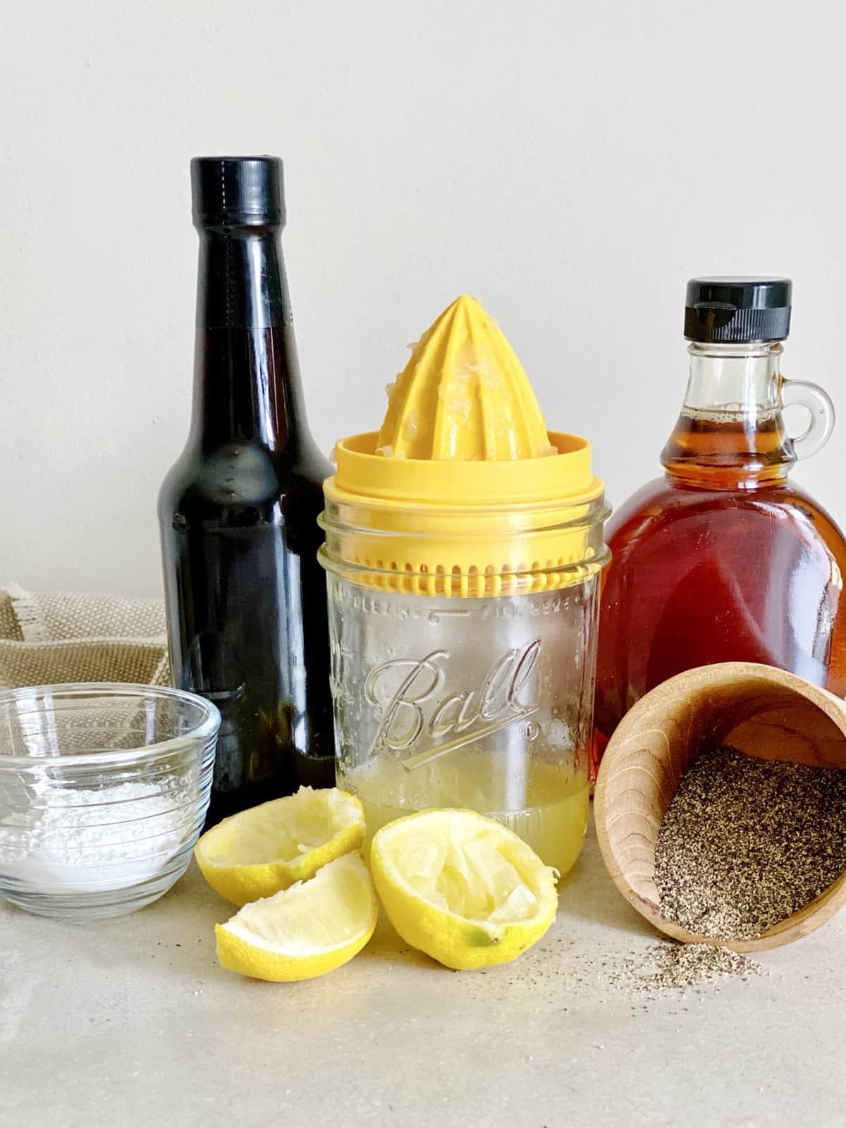 Gluten-Free Lemon Pepper Cauliflower Wings Glaze Ingredients The Vgn Way
