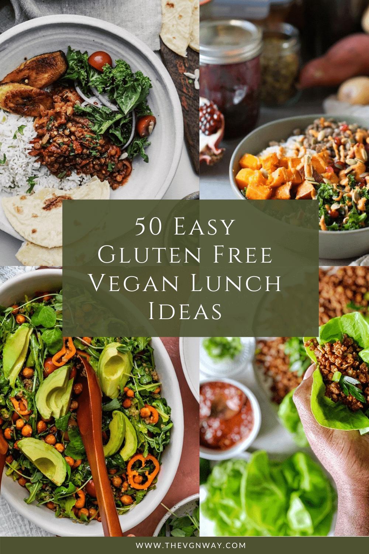50+ Easy Gluten Free Vegan Lunch Ideas