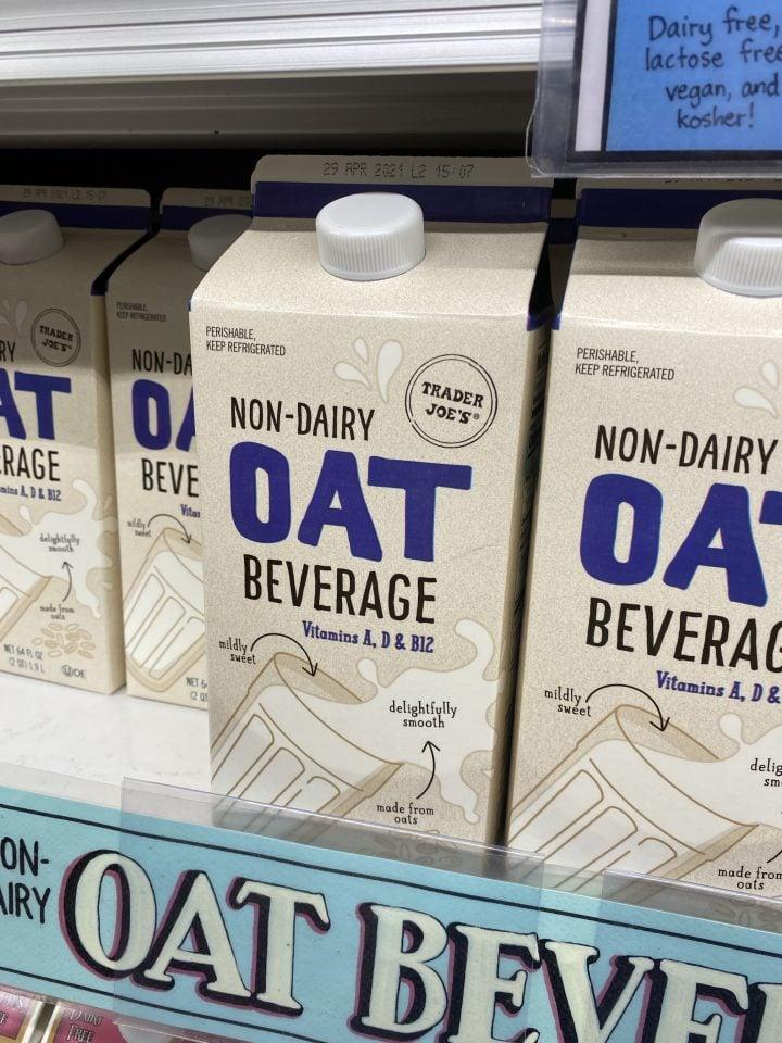 Trader Joe's Non-Dairy Oat Milk