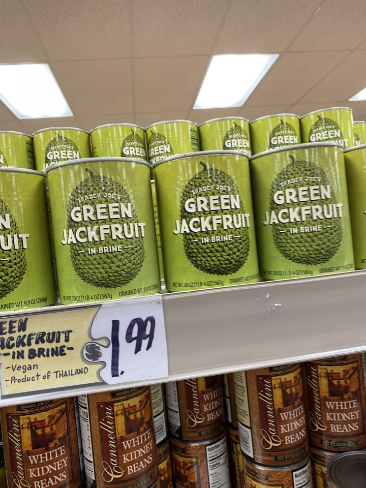 Trader Joe's Canned Green Jackfruit in Brine