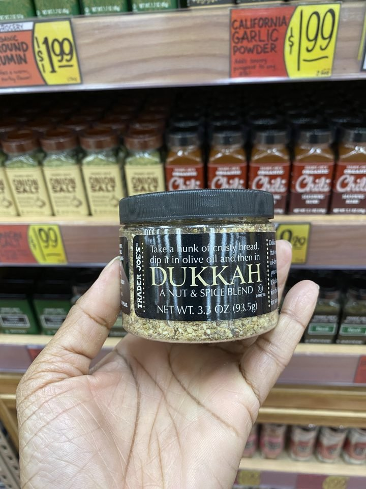 New Trader Joe's spice blend Dukkah