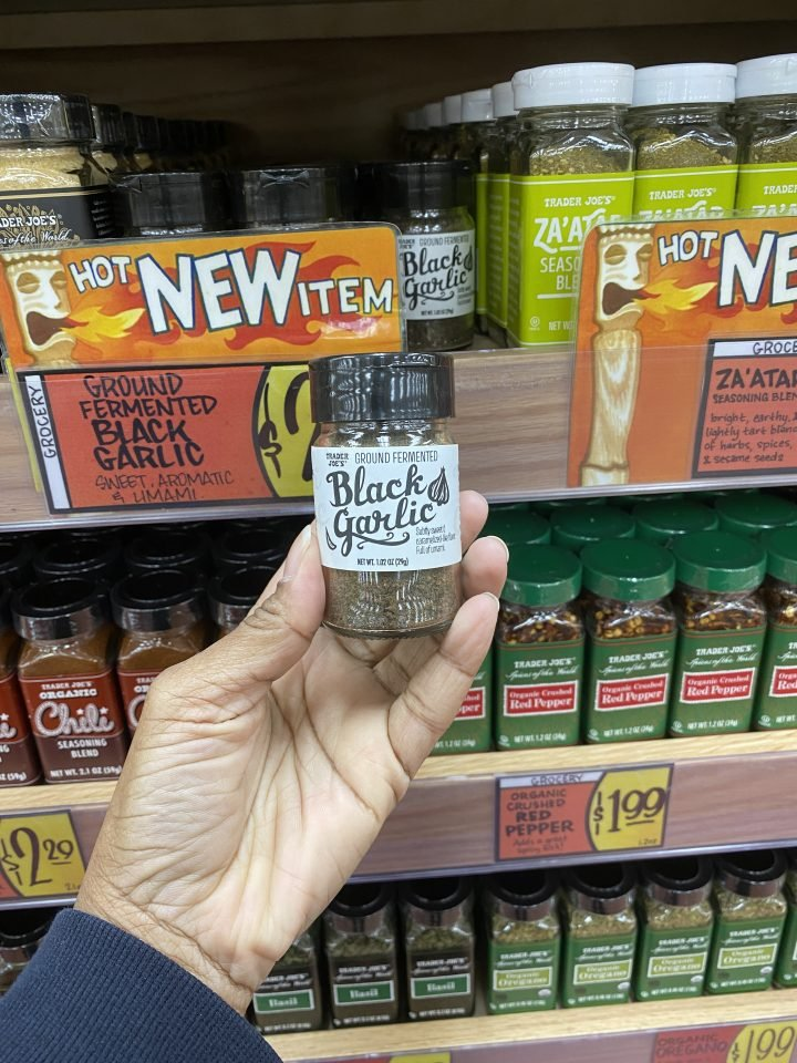 Trader Joe's Ground Fermented Black Garlic