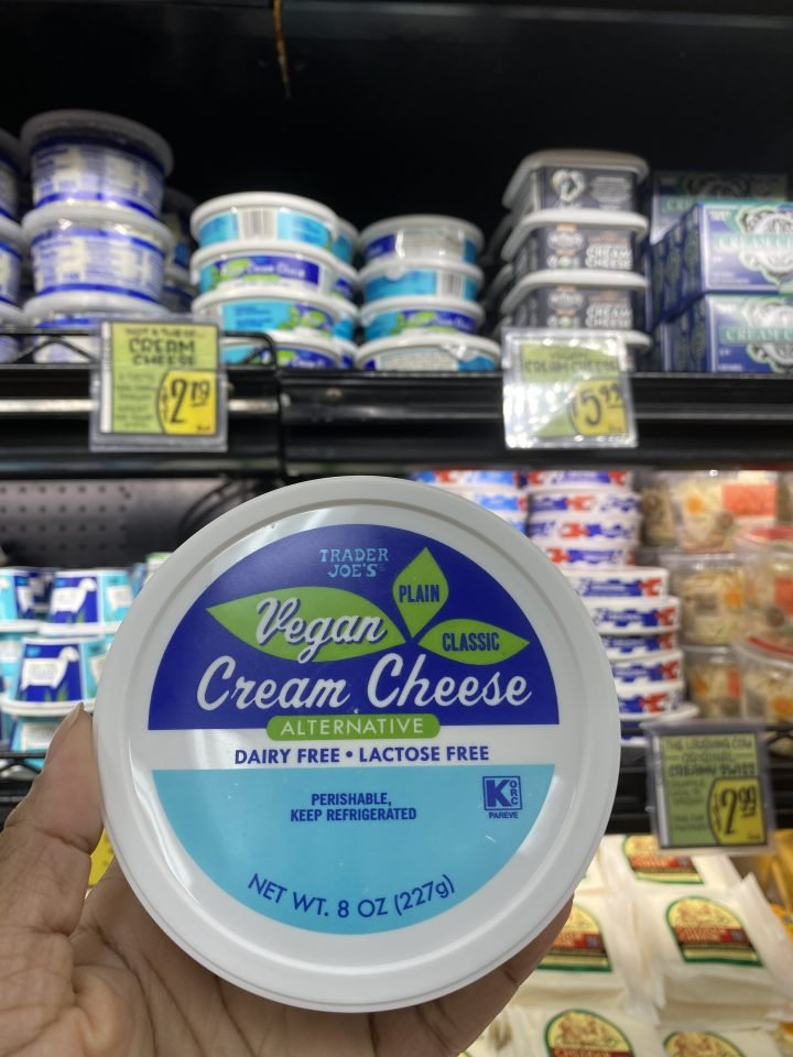 Trader Joe's Cream Cheese Alternative