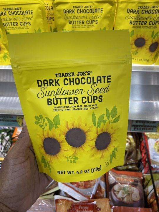 e Dark Chocolate Sunflower Seed Butter Cups - The Vgn Way