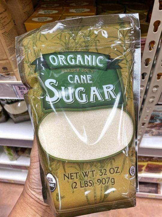 Trader Joe's Organic Cane Sugar Vegan & Gluten-free