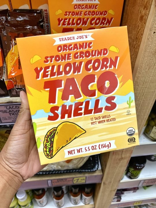 Trader Joe's Organic Stone Ground Yellow Corn Taco Shell