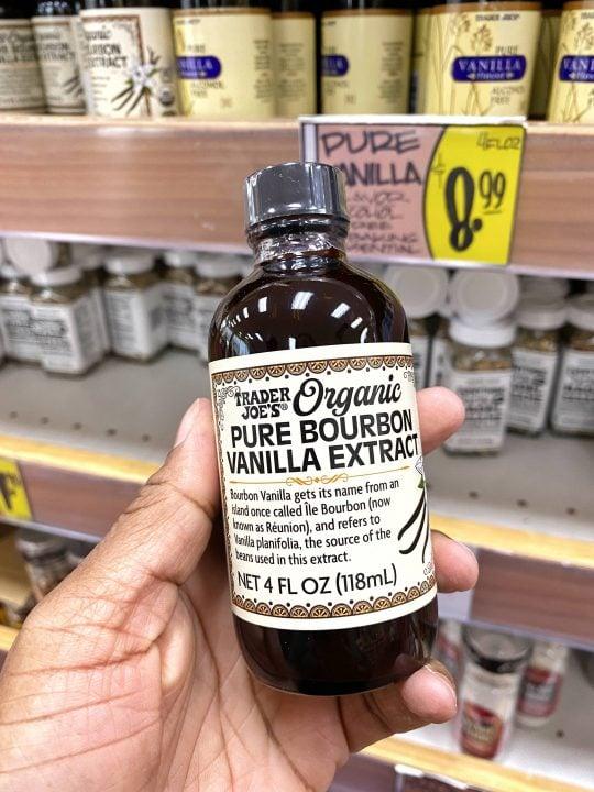 Trader Joe's Pure Bourbon Vanilla Extract Vegan & Gluten-free