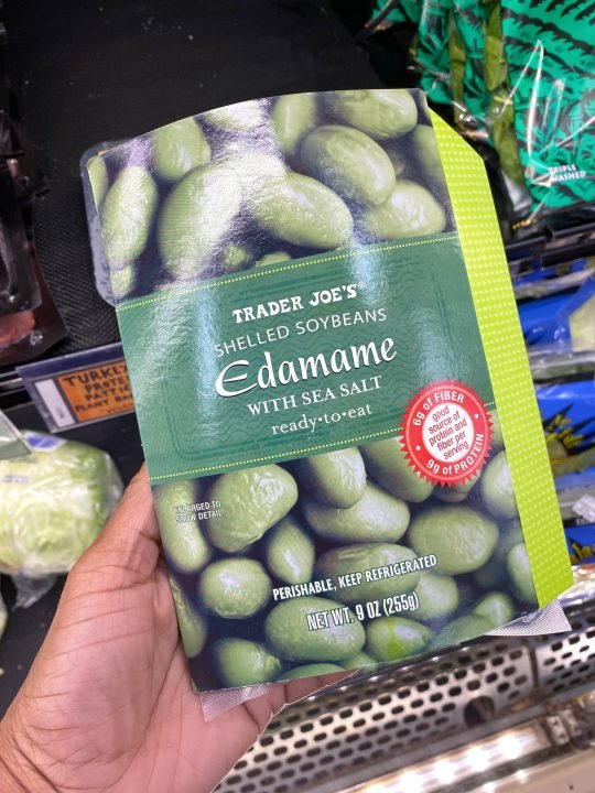 Trader Joe's Ready To Eat Edamame Vegan & Gluten-free