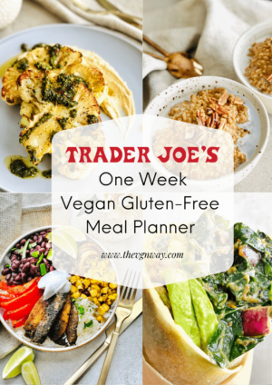 Trader Joe's One Week Meal Plan