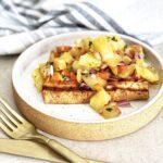 Roasted Pineapple Salsa For Tofu
