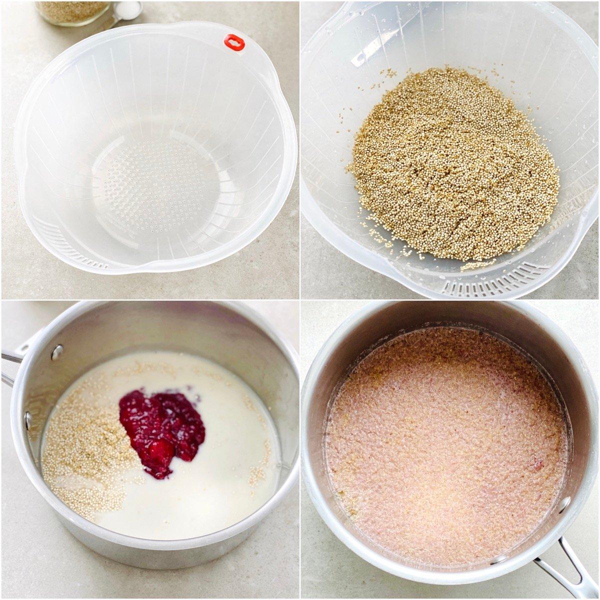 How To Make Strawberries And Cream Quinoa