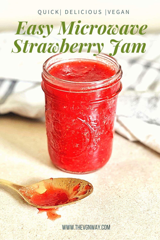 Strawberry Jam Pin for Pinterest